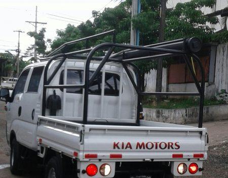 Estructura especial para cargar materiales